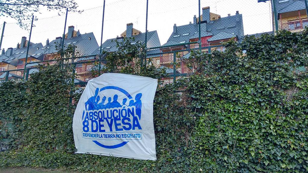 OSTA pide la absolución para 'los 8 de de Yesa'