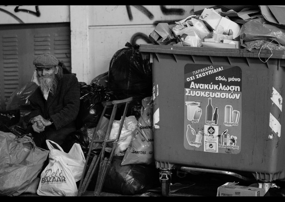 Sólo un 5% del monto de los rescates fue a parar al presupuesto público griego