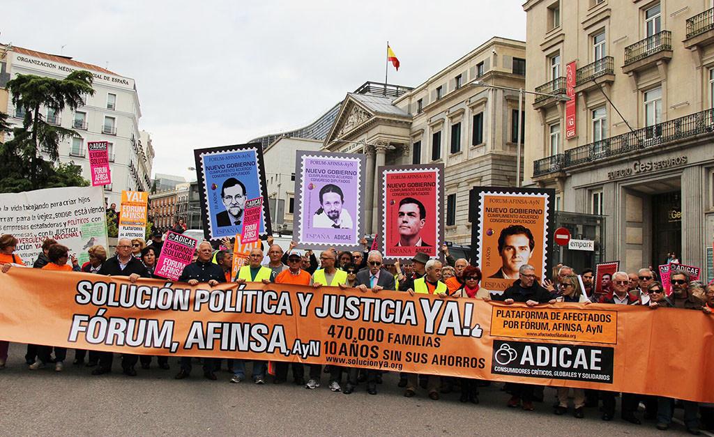 La AN ordena el ingreso en prisión de la excúpula de Afinsa