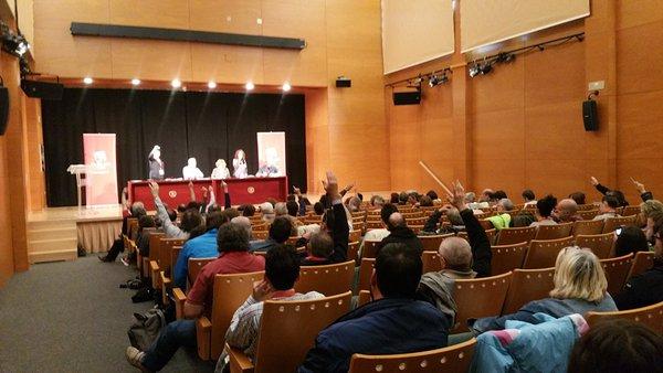 Apoyo a los 8 de Yesa y la lucha contra la despoblación, propuestas que IU Aragón llevará a su Asamblea Federal