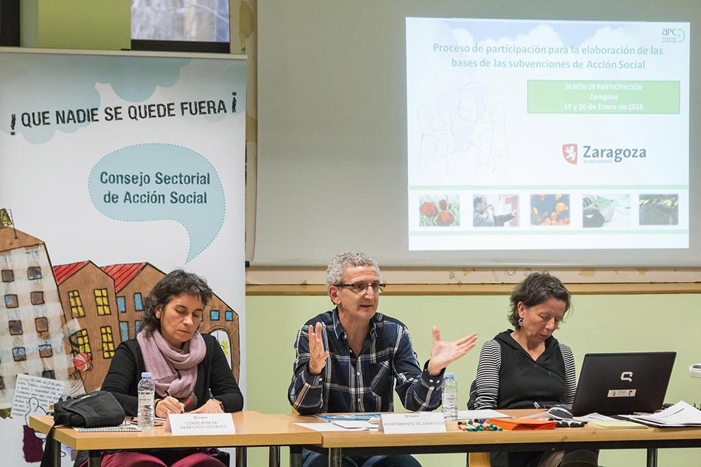 Más de 150 entidades zaragozanas podrán optar a las subvenciones de Acción Social