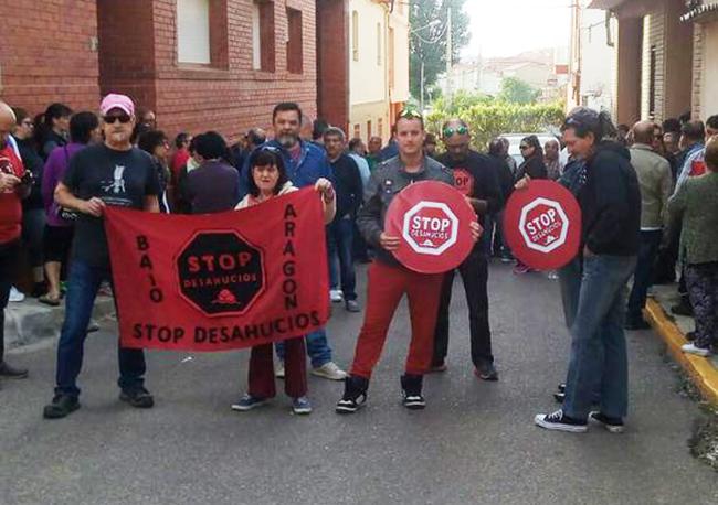 La presión popular frena en Andorra un desahucio