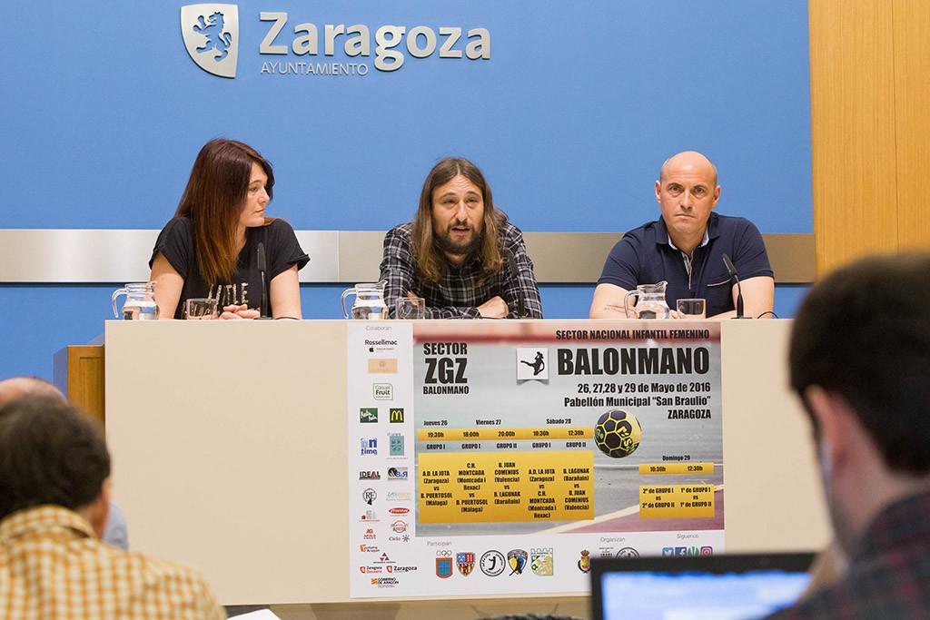 Zaragoza, escenario de la II fase del Campeonato estatal de Clubs de Balonmano en la categoría Infantil Femenino
