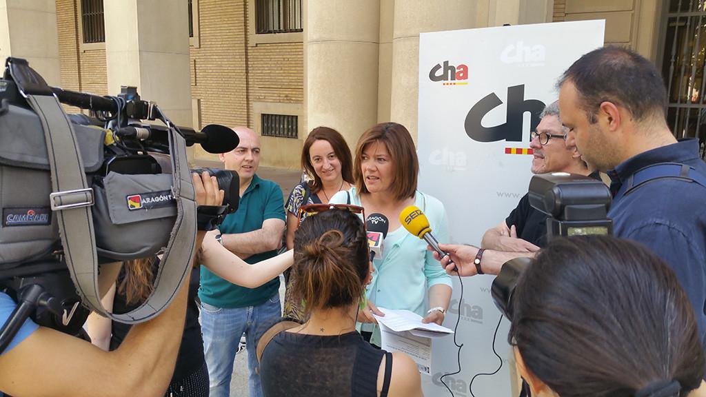 CHA presenta una queja en Delegación exigiendo que se permita la celebración de eventos en las comarcas aragonesas