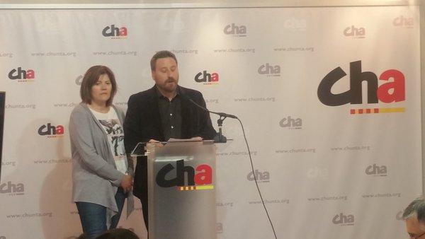 """CHA plantea una """"plataforma aragonesista de izquierdas"""" para el Senado"""