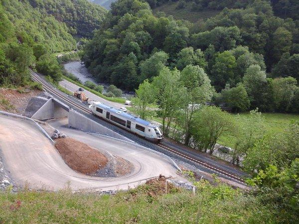 Aquitania sigue por delante en la reapertura del la línea Canfranc – Pau