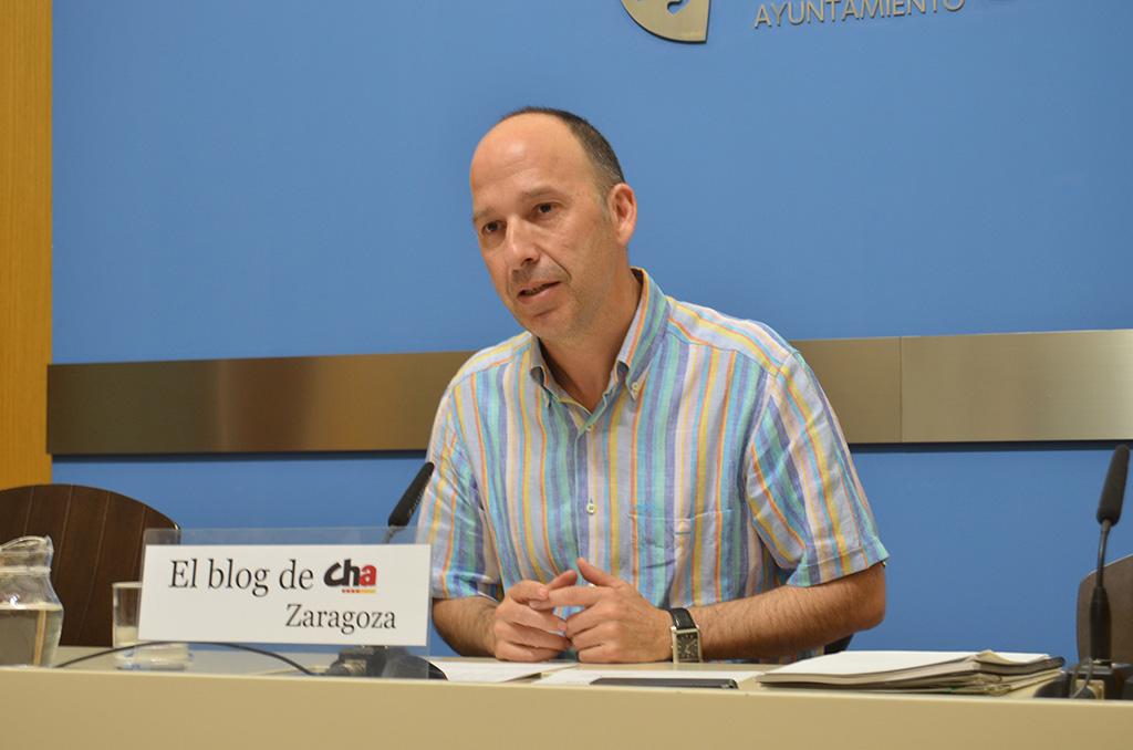 3d6632e9b El portavoz de Chunta Aragonesista (CHA) en el Ayuntamiento de Zaragoza,  Carmelo Asensio, ha pedido en la Comisión de Derechos Sociales una ...