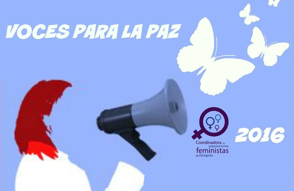 Actos en Zaragoza por el Día Internacional de las Mujeres por la Paz y el Desarme