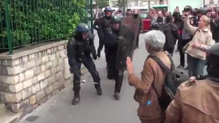 La policía francesa deja en coma a un fotógrafo con el lanzamiento de una granada