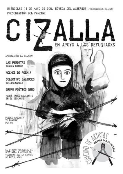 Fanzine Cizalla presentación ZGZ