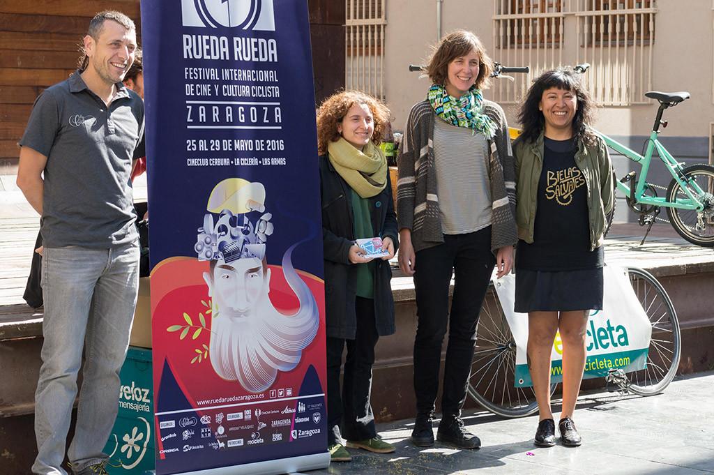 El Festival Rueda-Rueda situará a Zaragoza en el mapa de la cultura ciclista