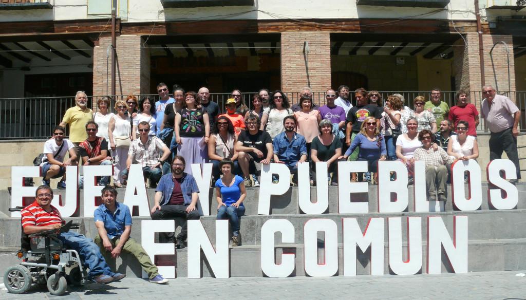 'Ejea y Pueblos en Común' respalda y apoya la candidatura Unidos Podemos para las elecciones generales