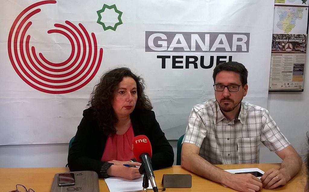 Ganar Teruel respalda la candidatura de 'Unid@s Podemos'