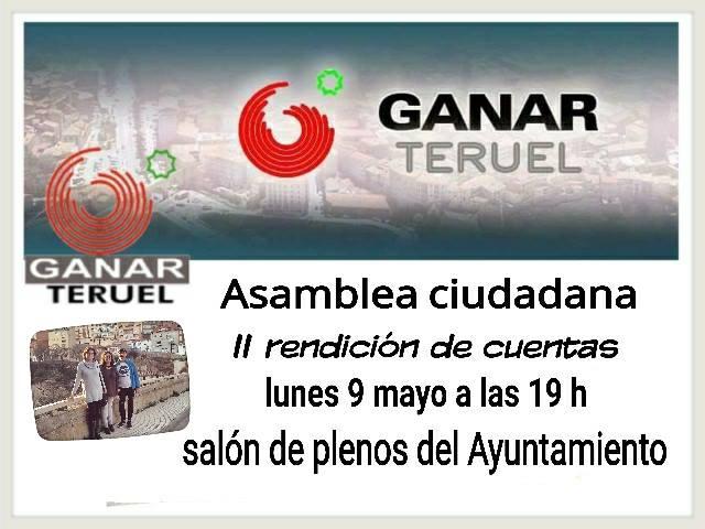 Ganar Teruel asamblea mayo