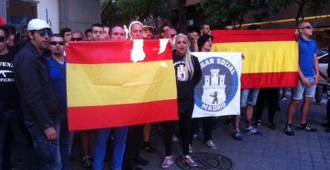 La Delegación del Gobierno en Madrid autoriza una marcha neonazi de Hogar Social