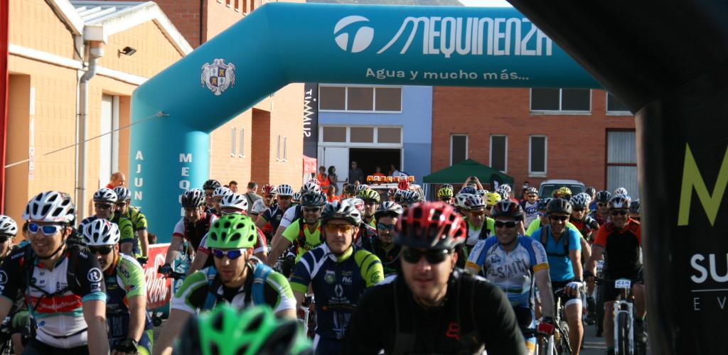 200 ciclistas participarán en la XI Transebre BTT de Mequinensa