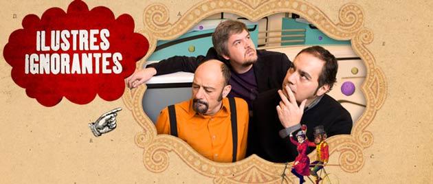 El humor delirante de 'Ilustres Ignorantes' en el Teatro Principal de Zaragoza