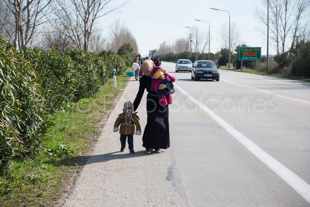 Mujeres, refugiadas de segunda, en Idomeni