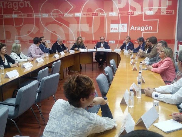 El PSOE Aragón aprueba sus candidaturas al Congreso y al Senado
