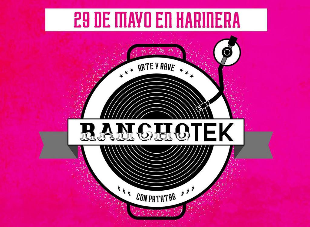 'Ranchotek', arte y rave en la Harinera con el Colectivo Llámalo H