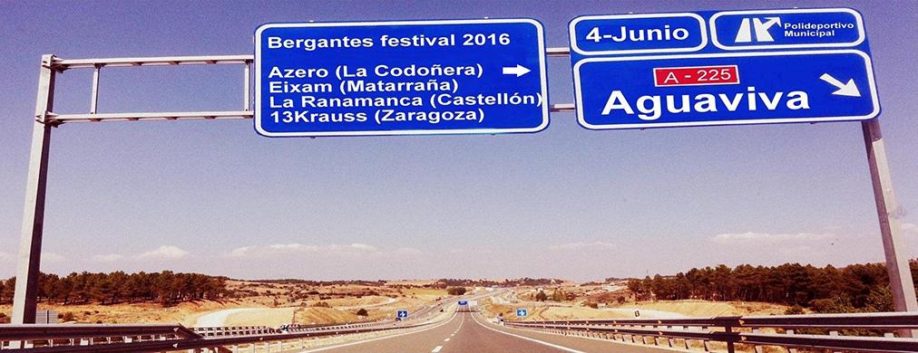 SALVEM LO RIU Bergantes Festival 2016