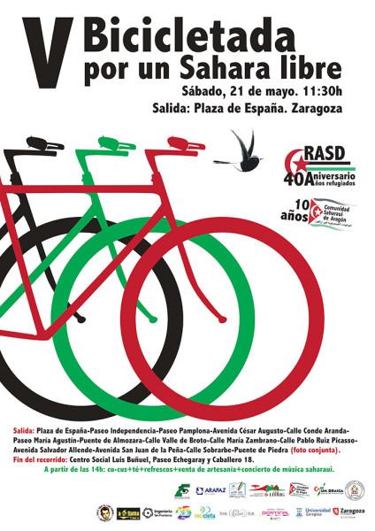V Bicicletada Sahara libre R