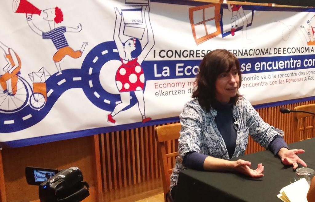 Miradas ecofeministas en Balbastro con Yayo Herrero