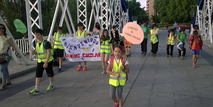 Tres nuevos colegios de Zaragoza se suman al programa 'Camino Escolar' para promover la autonomía infantil