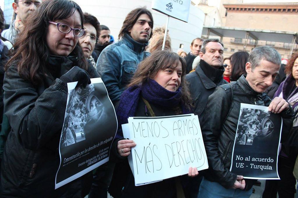 Convocan en Zaragoza una concentración por las cinco personas muertas en el Mar de Alborán