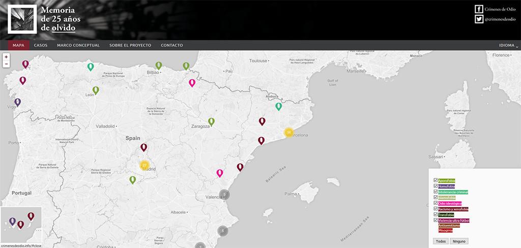 """Miquel Ramos: """"crimenesdeodio.info trata de ponerles nombre a los que no tenían y situarlos en un mapa"""""""