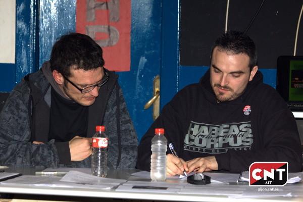 CNT Teruel celebra una jornada antirrepresiva este viernes