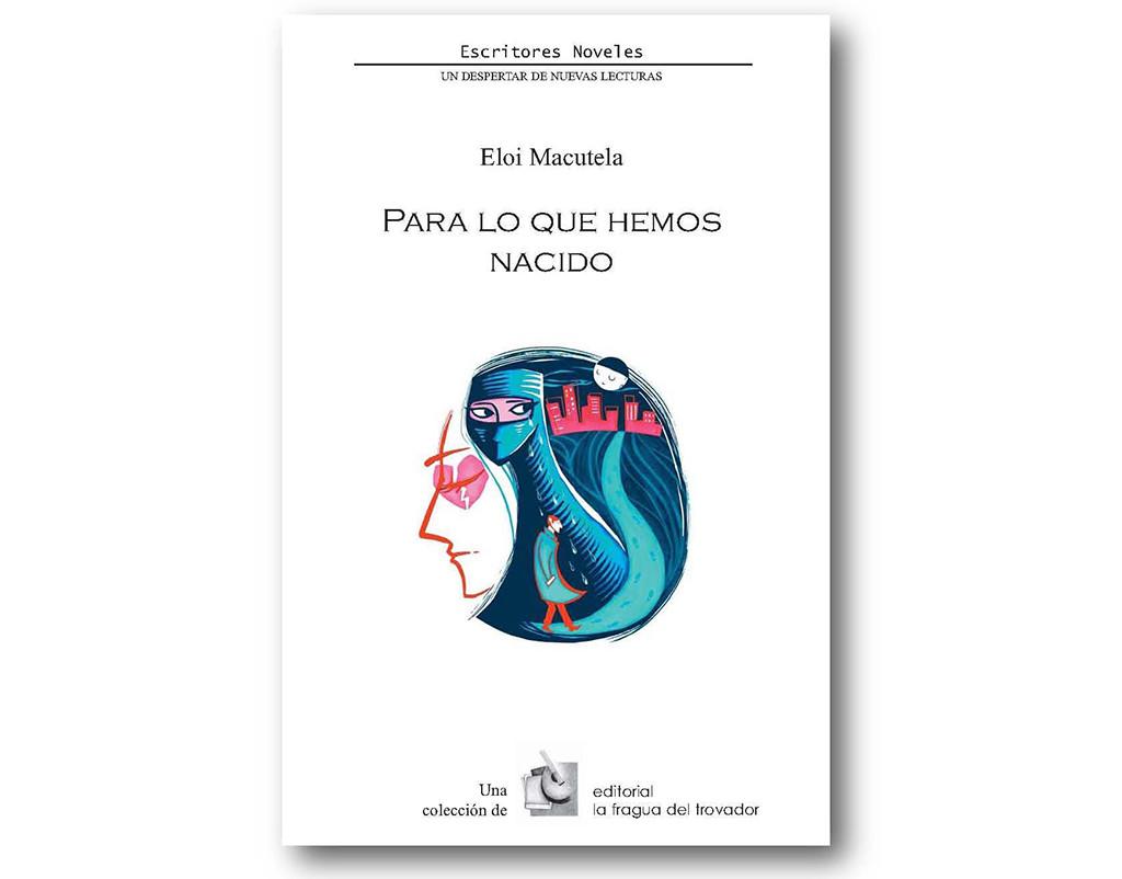 Eloi Macutela presenta su libro 'Para lo que hemos nacido' en la Harinera ZGZ