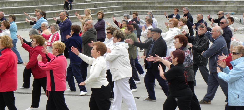 Casi 1.000 personas mayores realizarán este jueves actividades deportivas en el Parque Grande