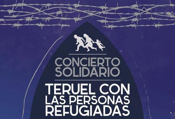 Teruel celebra un concierto solidario con las personas refugiadas