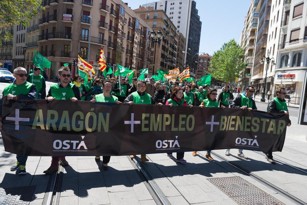 OSTA no participará en la manifestación convocada por los sindicatos estatales