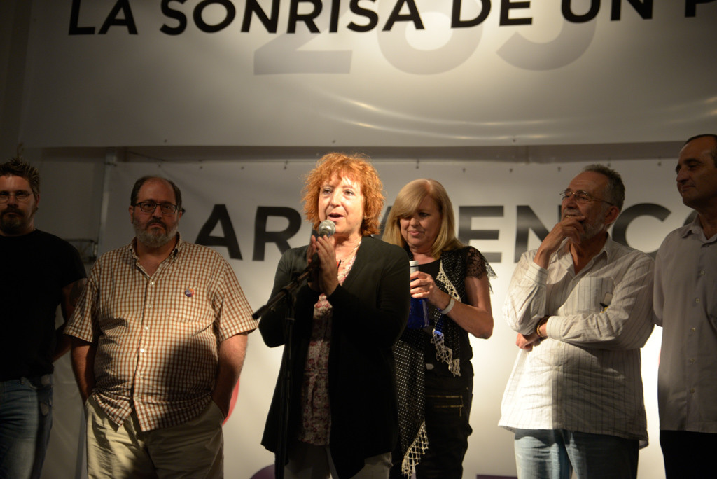 26J Noche electoral Unidos Podemos Aragón Foto Pablo Ibáñez ARAINFO (8)