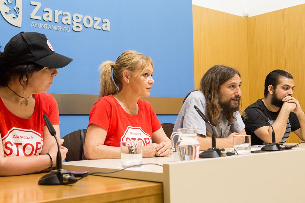 Híjar pide corresponsabilidad a las entidades financieras para acabar con la exclusión residencial