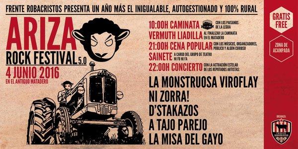 Pistoletazo de salida para el Ariza Rock Festival 5.0