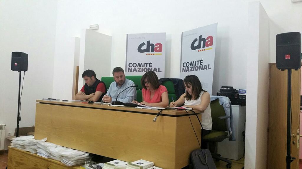"""El Comite Nazional de CHA apuesta por """"un futuro viable y sostenible"""" para las comarcas mineras aragonesas"""