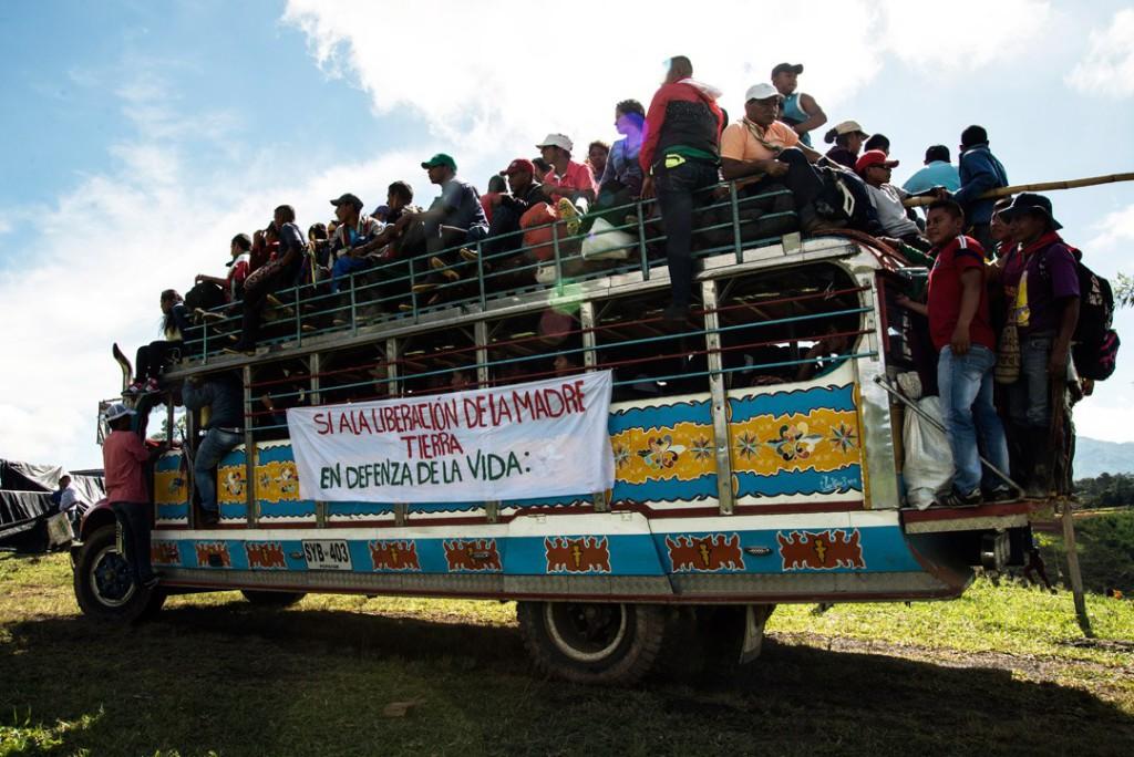 Movilizaciones en Colombia. Foto: Comité de Solidaridad Internacionalista