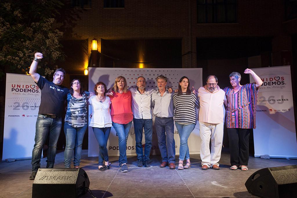 Unidos Podemos pasa a ser la segunda fuerza en tiempos y en orden en la radiotelevisión pública aragonesa