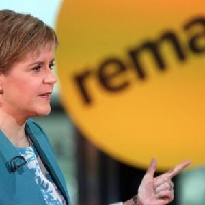 Sturgeon viaja a Bruselas para que la voz de Escocia sea escuchada