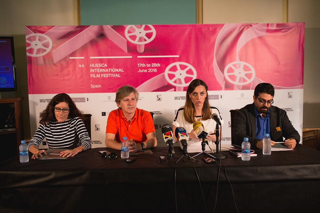 De izquierda a derecha, Julia Rincón, Gaizka Urresti, Azucena Garanto y José Luis Farias.