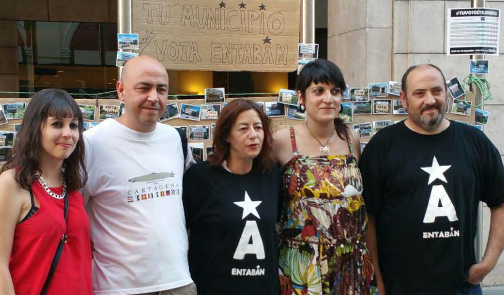 Entabán cierra la campaña afirmando que representan «el verdadero voto útil aragonés y de izquierdas»