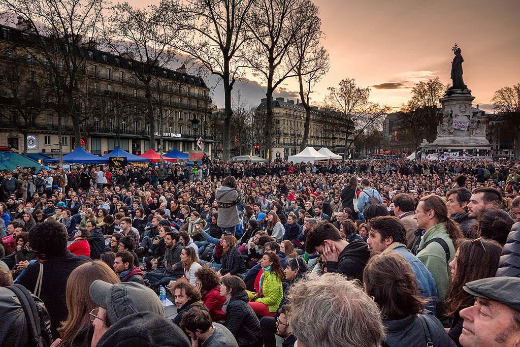 La Nuit Debout se enfrenta a su reto más difícil: superar un mes de Eurocopa