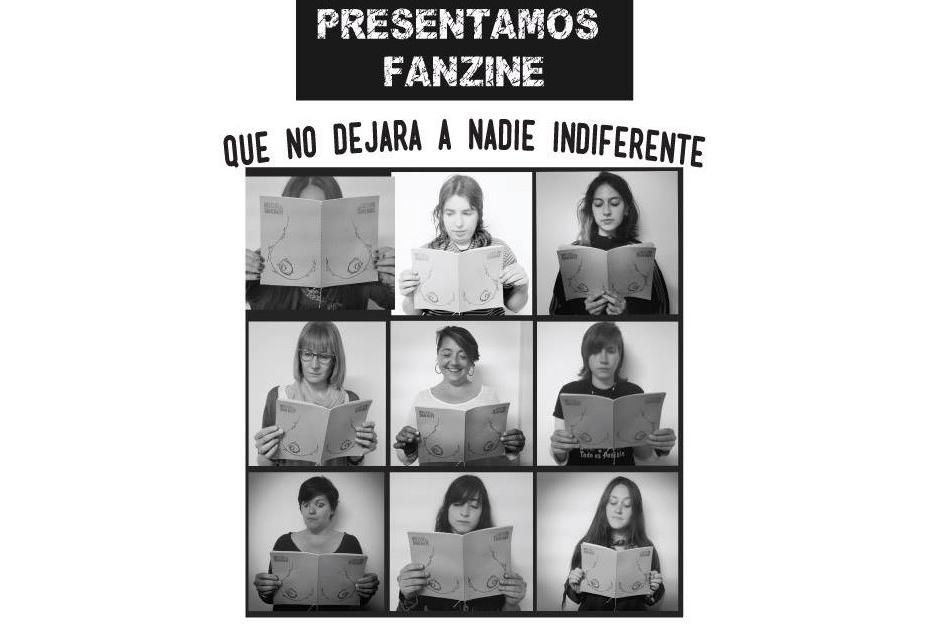 """Espacio Feminista de Teruel presenta su fanzine """"Di-sección femenina"""""""