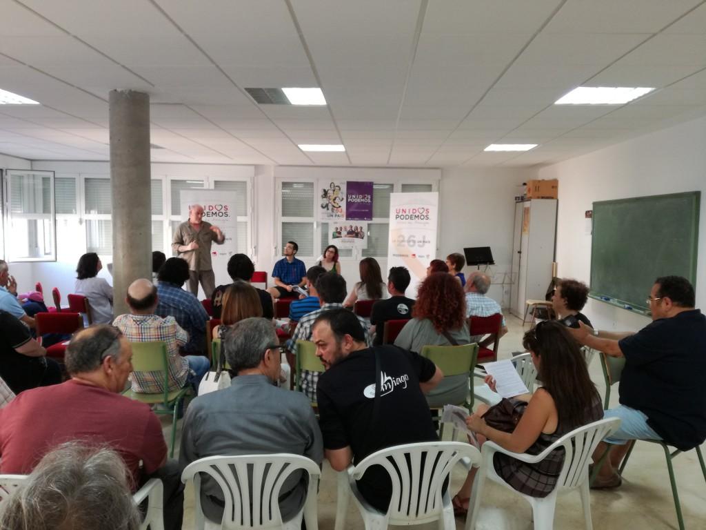 Unidos Podemos apuesta por redistribuir la riqueza para fijar población y empleo en Teruel