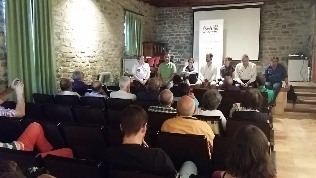 Unidos Podemos en Común exige la gestión púbica de las centrales hidroeléctricas en el Pirineo