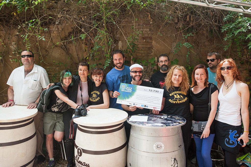 Representantes de la organización del II Love Fest. Foto: Miguel Gracia García