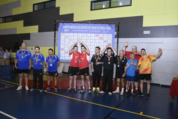 El Publimax CAI Santiago se proclama campeón estatal de Tenis de Mesa